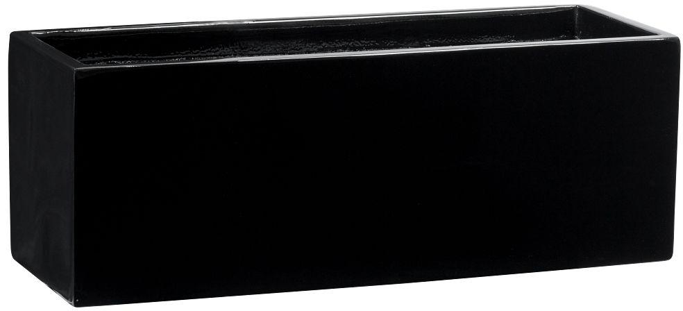 Donica z włókna szklanego D109AS czarny połysk