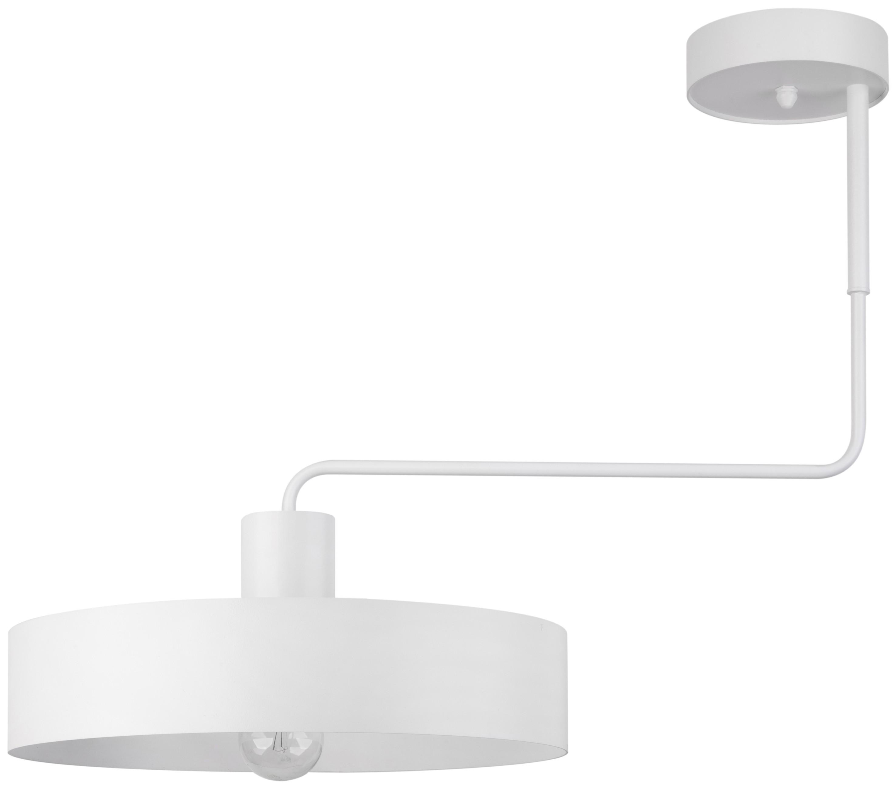 Lampa sufitowa nowoczesna metalowa VASCO 1 punktowa biała okrągła 31550 - Sigma Do -17% rabatu w koszyku i darmowa dostawa od 299zł !