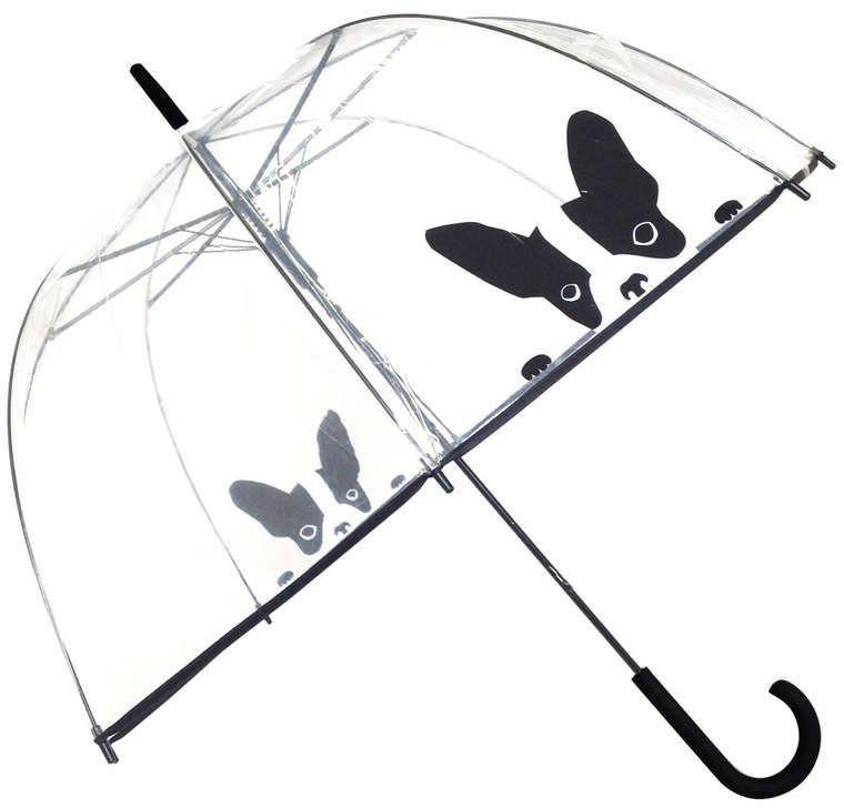 Smati - długi parasol - pies - przeźroczysty