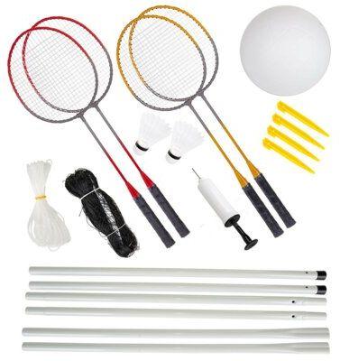 Zestaw do siatkówki plażowej i badmintona ENERO 1036335