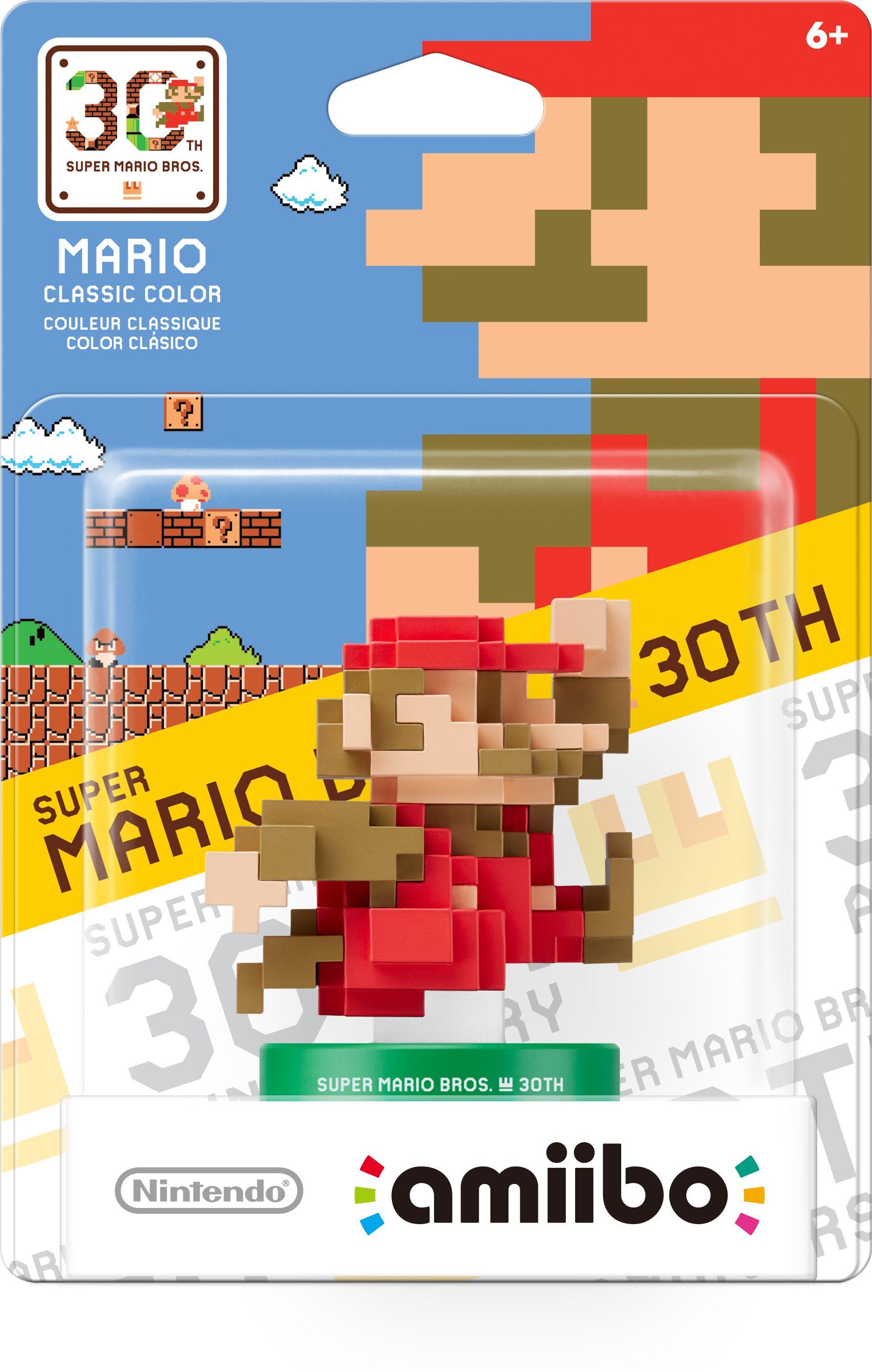 Figurka Amiibo Pixel Mario Classic Colours