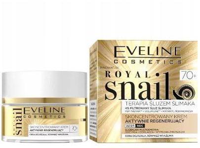 Eveline Royal Snail skoncentrowany krem aktywnie regenerujący 70+ 50 ml