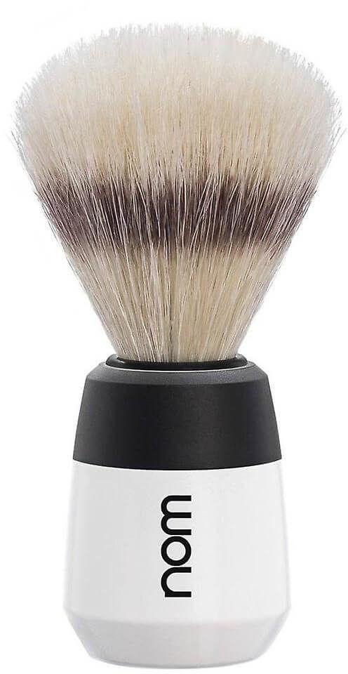 Muhle Nom Max Pędzel do golenia biało-czarny dla mężczyzn