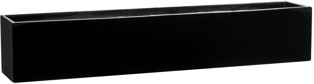 Donica z włókna szklanego D109AF czarny połysk