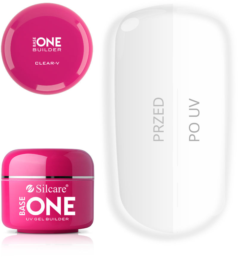 Base One Żel UV Clear - V 50 g