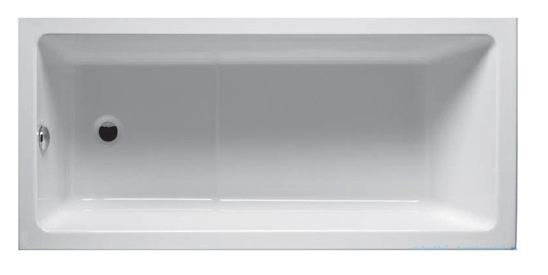 Riho Lusso Plus wanna prostokąta 170x80cm z hydromasażem Air lewa BA12005A1GH1009