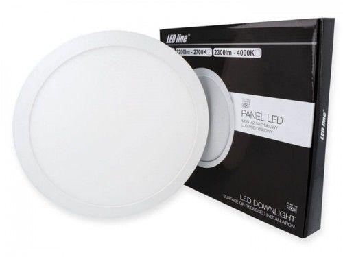 Panel LEDline EasyFix 24W 2200lm 2700K - biała ciepła