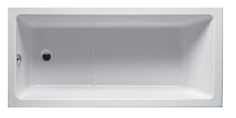 Riho Lusso Plus wanna prostokąta 170x80cm z hydromasażem Air prawa BA12005A1GH1003