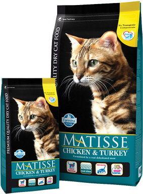 MATISSE CHICKEN TURKEY VEG. 400g