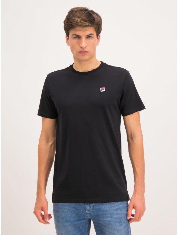 Fila T-Shirt Seamus 682393 Czarny Regular Fit
