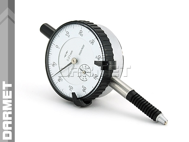 Czujnik zegarowy udarowy wodoodporny - 10/0,01MM (539D-053)