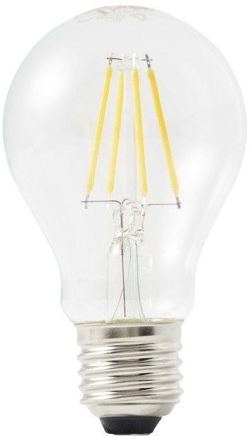 Żarówka LED Diall A60 E27 4,5 W 470 lm przezroczysta barwa ciepła