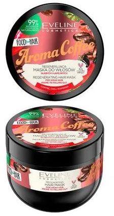 Eveline Food For Hair Aroma Coffee maska do włosów przyspieszanie wzrostu włosów i zapobieganie wypadaniu 500 ml