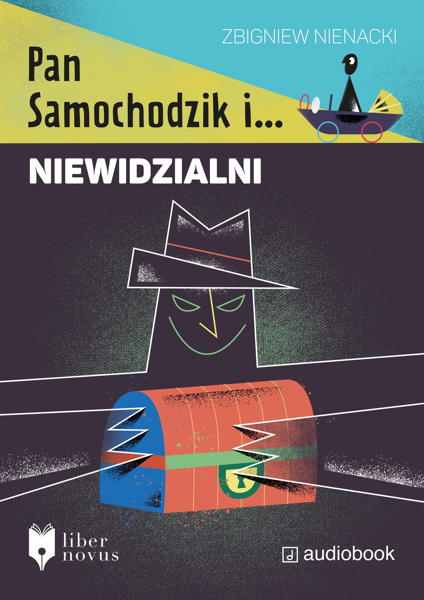 Pan Samochodzik i Niewidzialni - Zbigniew Nienacki - audiobook