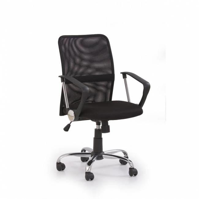 Fotel biurowy tony czarny tkanina membranowa - X04787