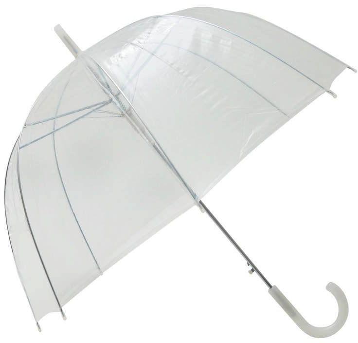 Smati - długi parasol - przeźroczysty