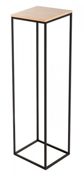 Kwietnik - Stojak z blatem - 104x28cm - Idealny na dekoracje ślubne