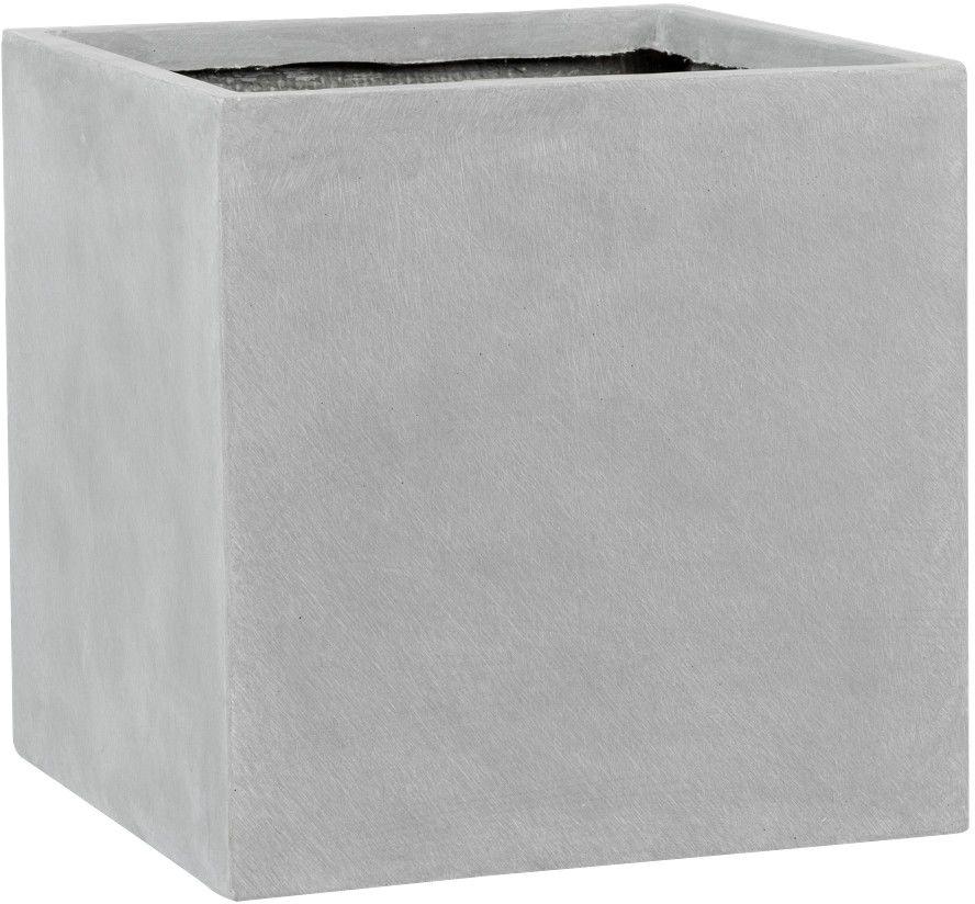 Donica z włókna szklanego D92A szary beton