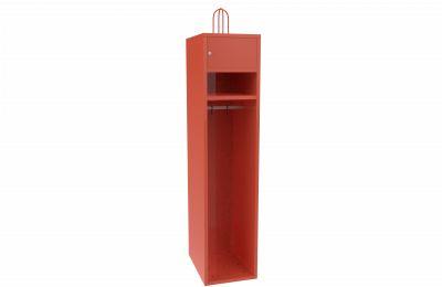Metalowa szafa strażacka dla remiz Sus 41- 120 cm skrytka 1