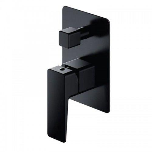 Bateria wannowa 11x15,4cm podtynkowa czarny mat, solo.Parma