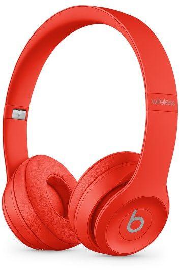 Słuchawki bezprzewodowe Beats Solo3 Wireless  (PRODUCT)RED (cytrusowa czerwień) - Gwarancja bezpieczeństwa. Proste raty. Bezpłatna wysyłka od 170 zł.