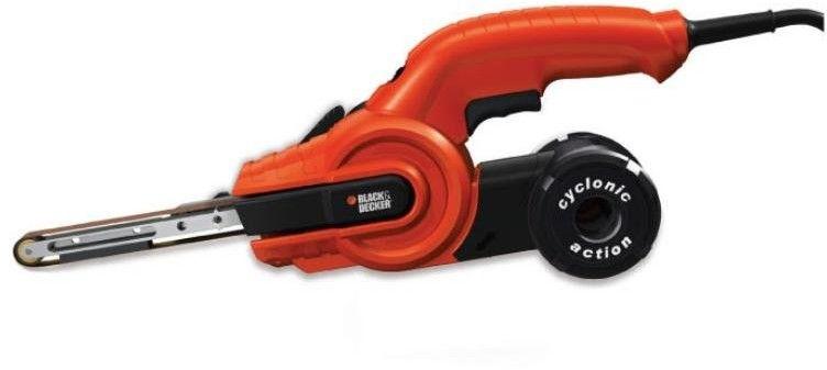 elektryczna szlifierka taśmowa / pilnik do metalu, 451x13mm, 350W, Black+Decker [KA900E]