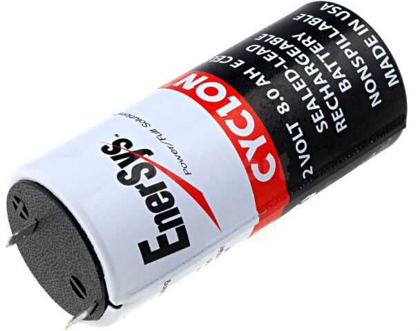Akumulator kwasowo-ołowiowy 2V 8Ah rozmiar E fi44x100mm