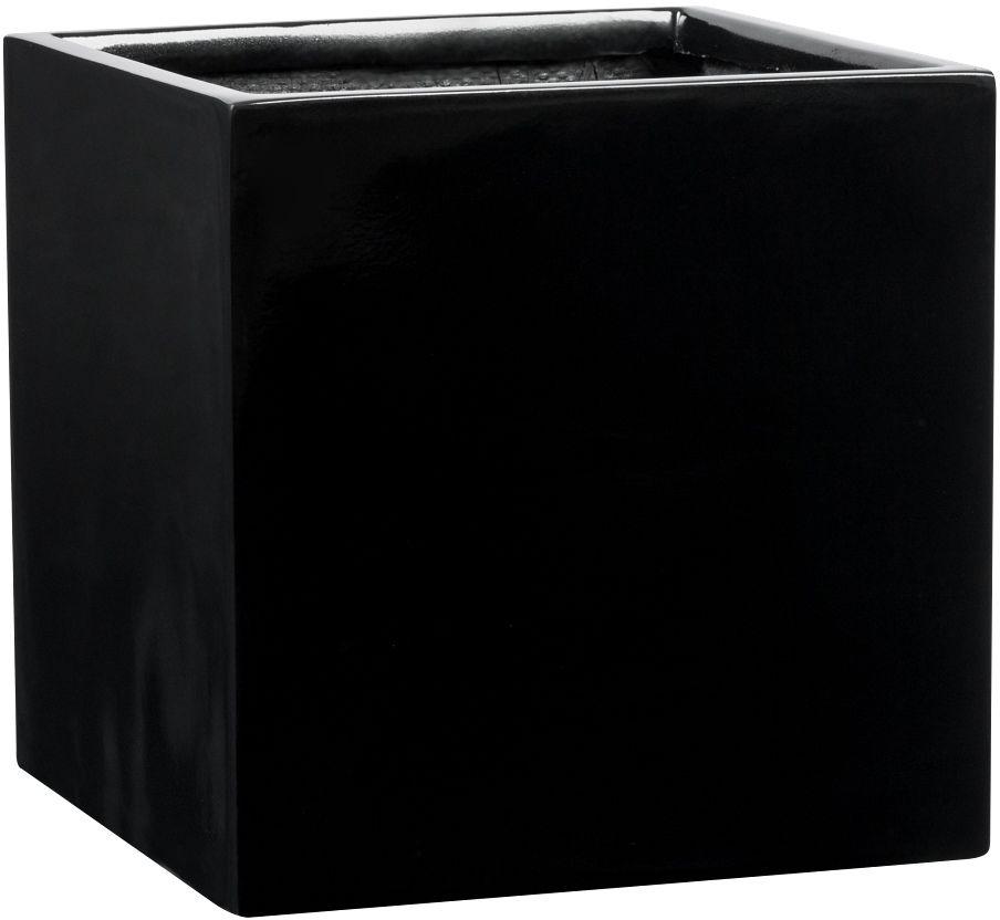 Donica z włókna szklanego D92A czarny połysk