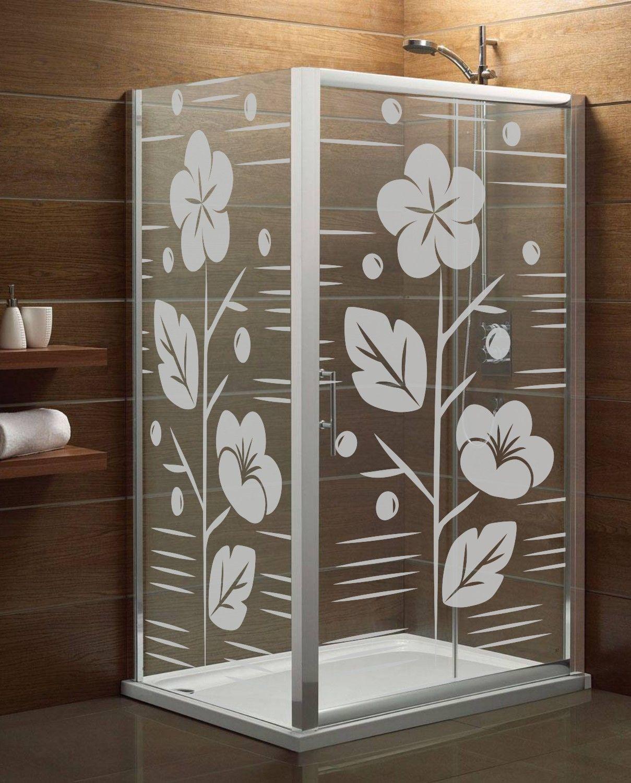 Naklejka mrożone szkło: Kwiat