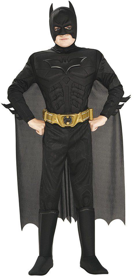 """Rubie''s 880401-L kostium dziecięcy w pudełku, """"Batman - The Dark Knight Rises"""", rozmiar L (8-10 lat)"""