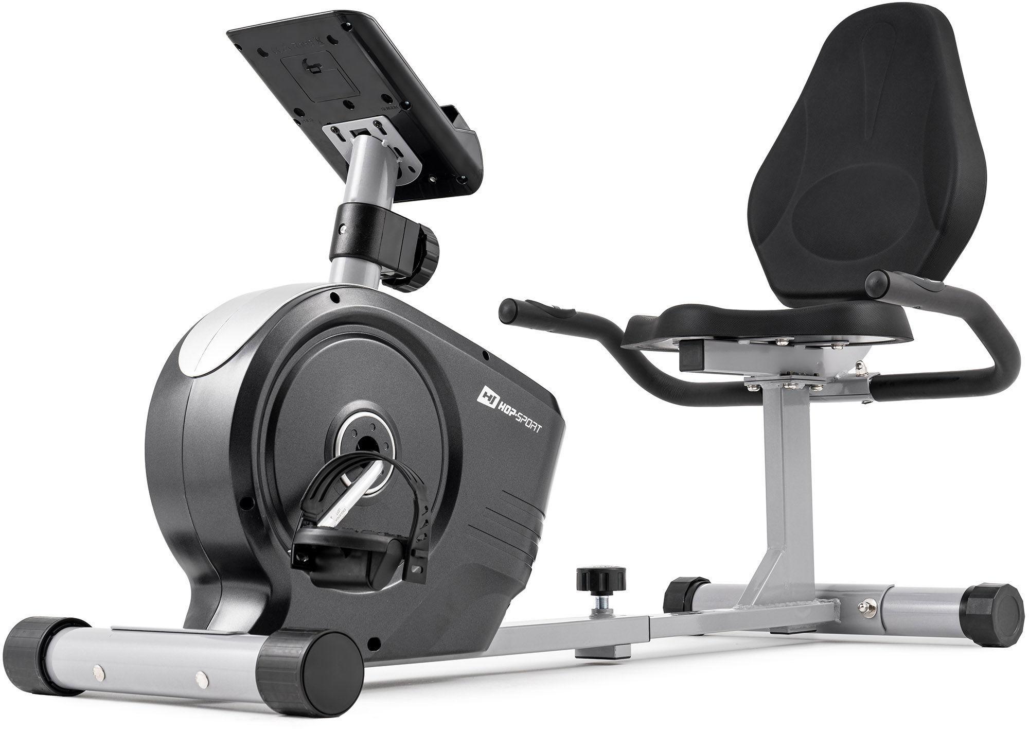 Rower leżący magnetyczny HS-2050L Beat Srebrny