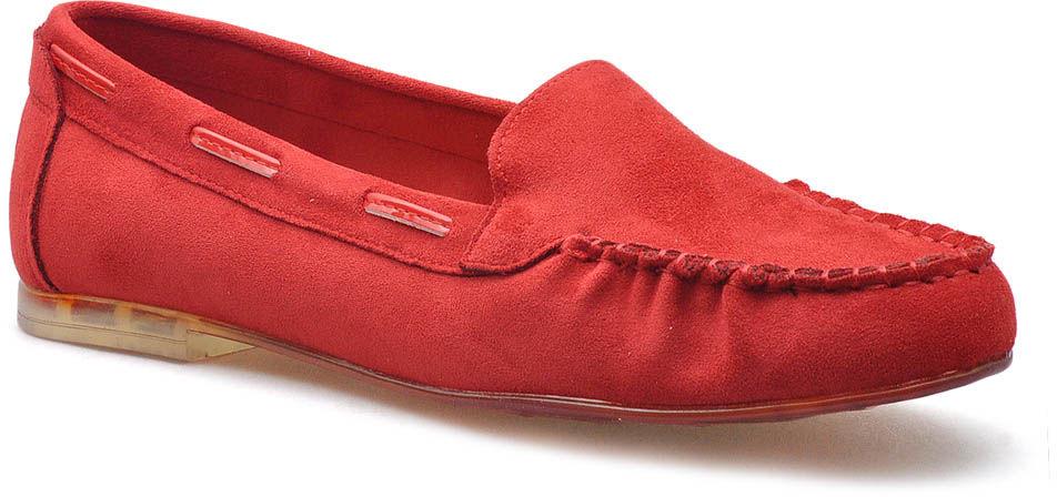 Mokasyny Sergio Leone MK722 Czerwone