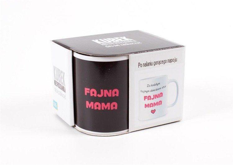 Kubek magiczny Fajna mama - Albi