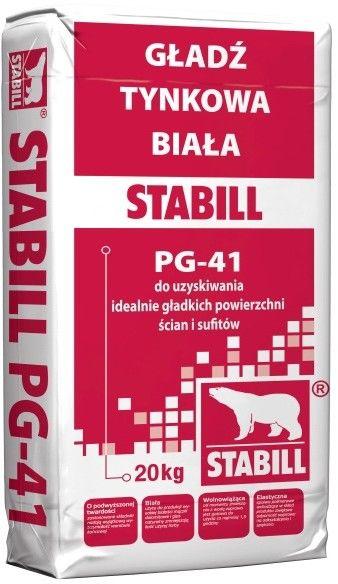 Gładź tynkowa Stabill 20 kg biała