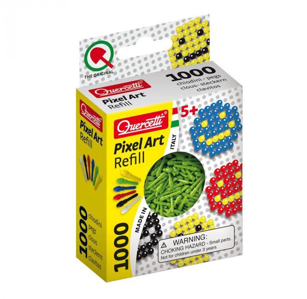 QUERCETTI 2480 Refill Art Zielony Pixel wtyczka opakowanie zastępcze