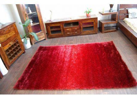 Dywan SHAGGY RAINBOW czerwony 120x170 cm