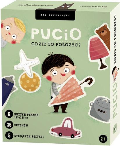 Nasza Księgarnia - gra Edukacyjna Pucio. Gdzie to Położyć?