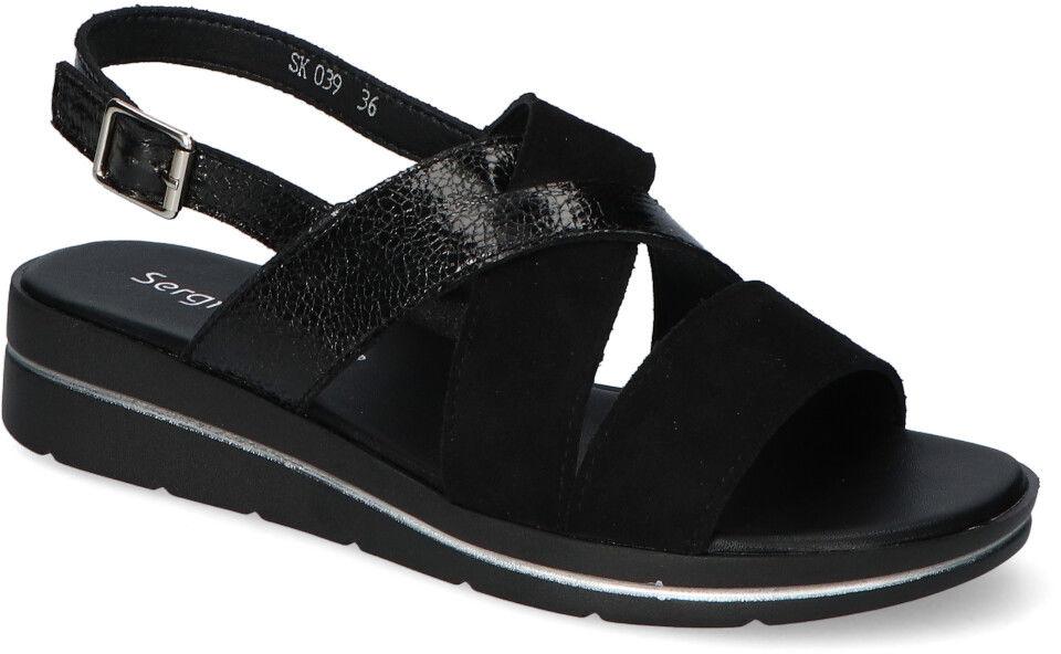 Sandały Sergio Leone SK039 Czarne