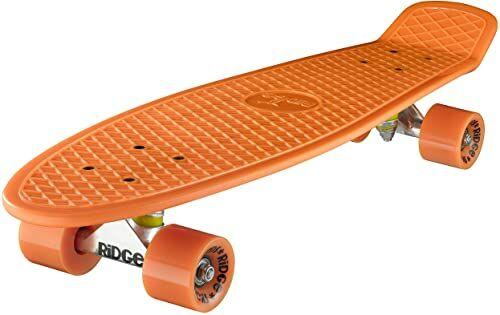 Ridge Deskorolka Big Brother nikiel 69 cm Mini Cruiser, pomarańczowa/pomarańczowa