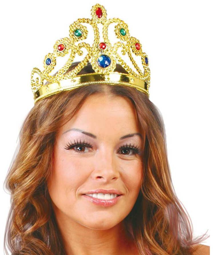 Korona Królowej złota - 1 szt.