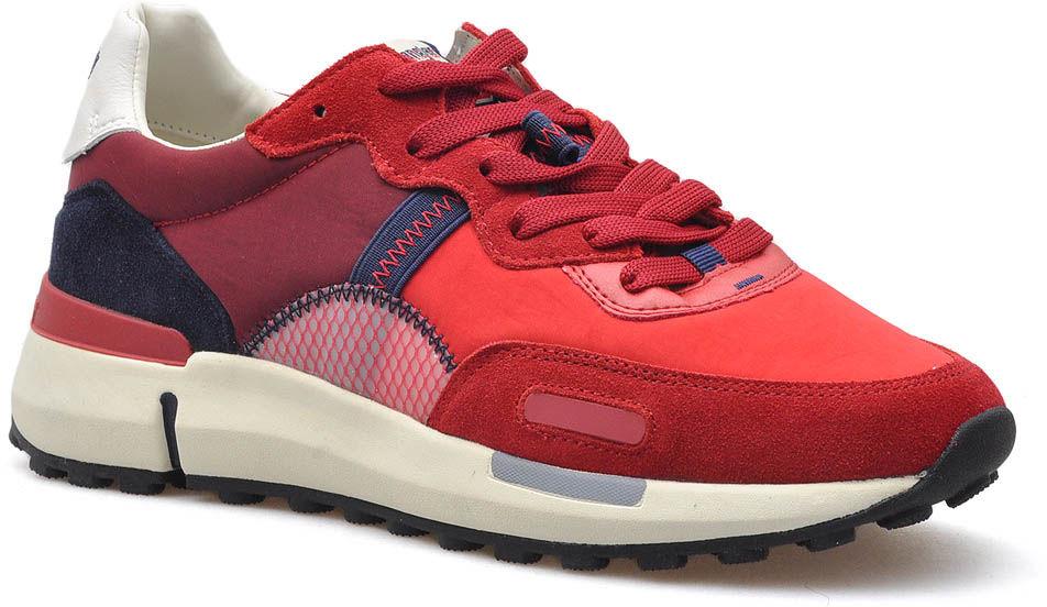 Sneakersy Wrangler WM01121A Czerwone