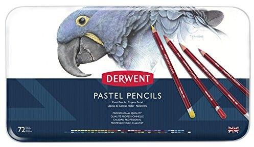 Kredki Pastelowe Derwent Pastel Pencils 72 szt. (Metalbox)