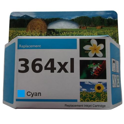 zastępczy atrament HP 364XL [cb323ee] cyan