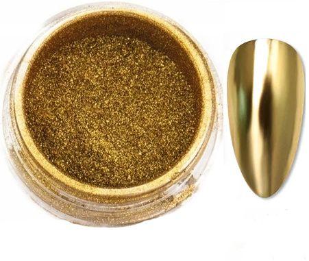 GLASS GOLDEN efekt lustra taflii pyłek - ZŁOTO