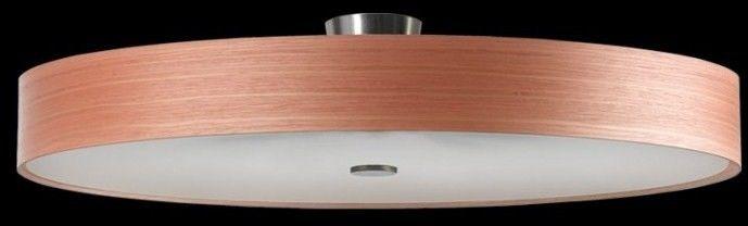 Plafon okrągły fornir KAPRI 85 P-6 67380 nowoczesna lampa sufitowa Ramko