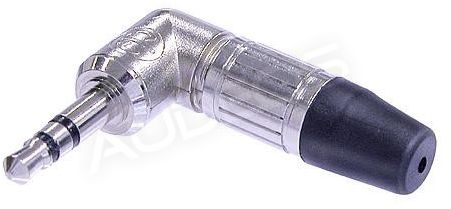 Neutrik NTP3RC wtyk mini jack 3.5mm TRS stereo kątowy