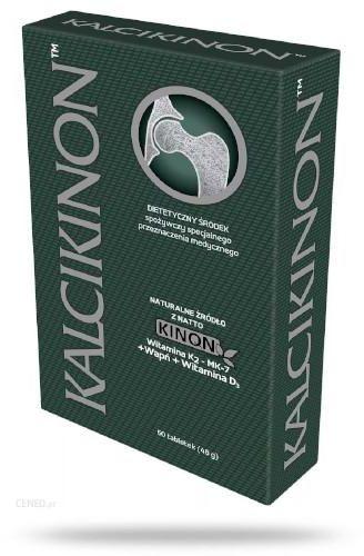 KalciKinon witamina D3 + wapń + witamina K2 pozyskiwana z natto 60 tabletek