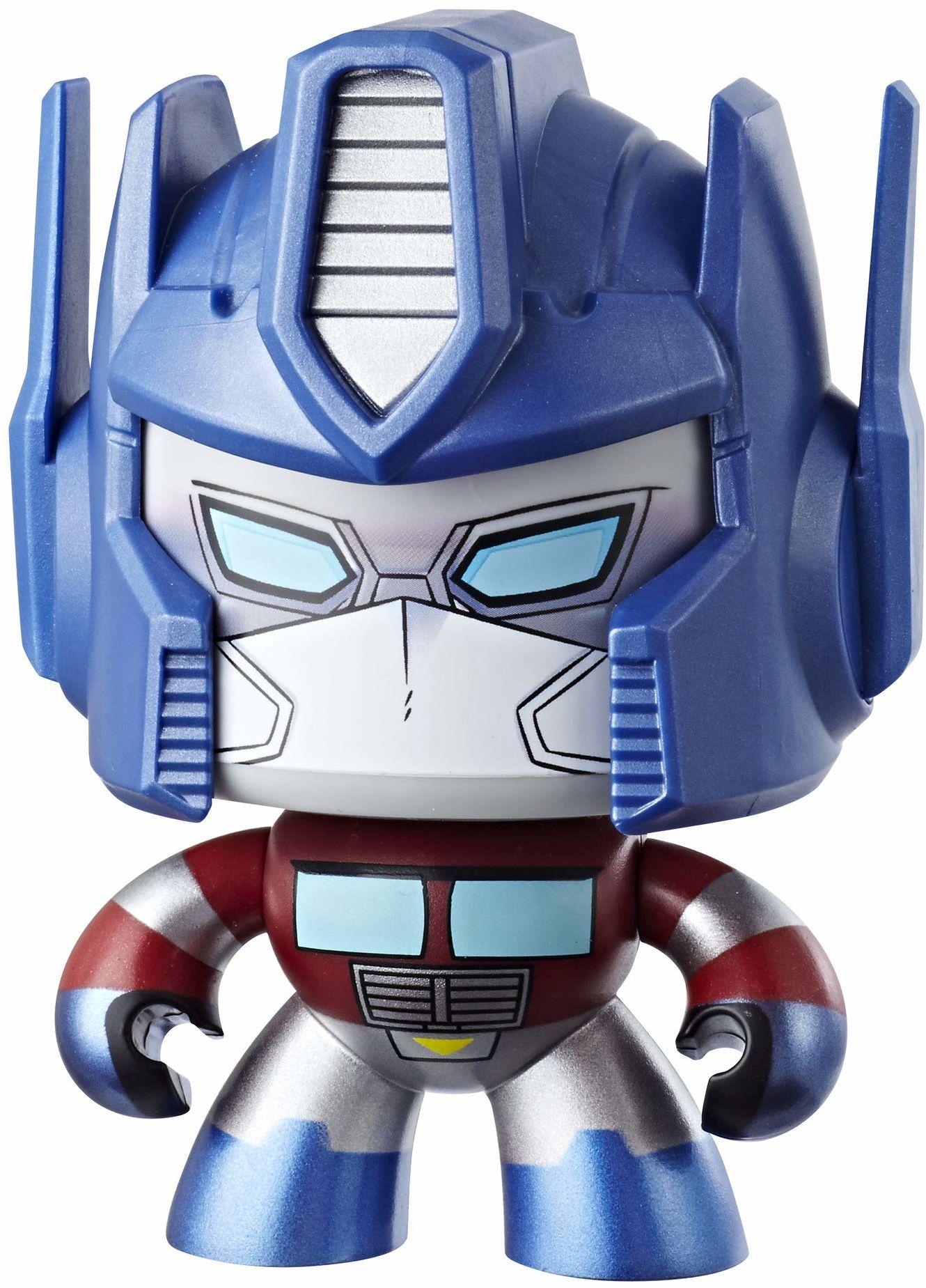 Transformers Mighty Muggs Bumblebee Optimus Prime, 10 cm duża figurka z trzema różnymi emocjami, od 6 lat
