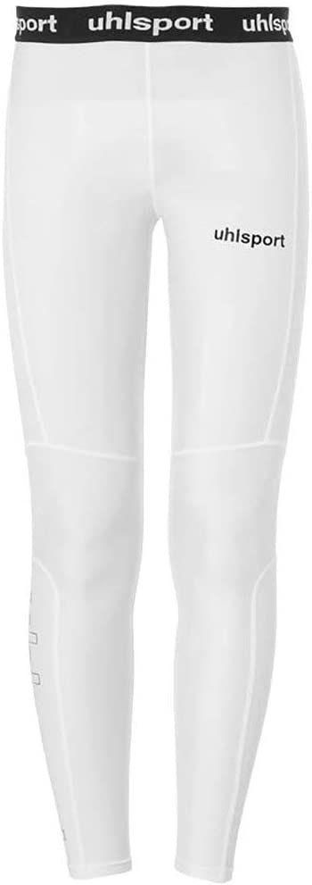 Uhlsport Distinction Pro długie legginsy dziecięce, uniseks biały biały 152