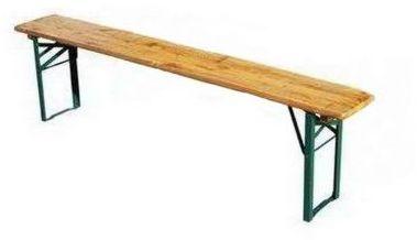 Ławka ogrodowa piwna BS o długości 2,2 metra